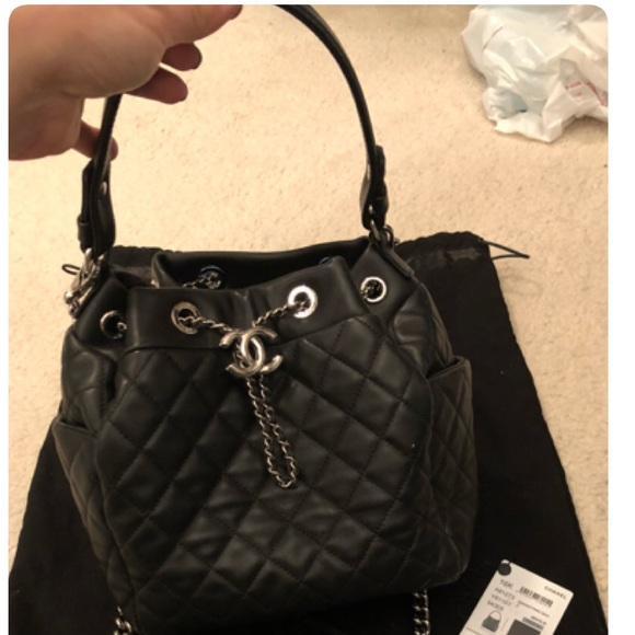 ab9ade59e963fd CHANEL Handbags - Chanel drawstring bag